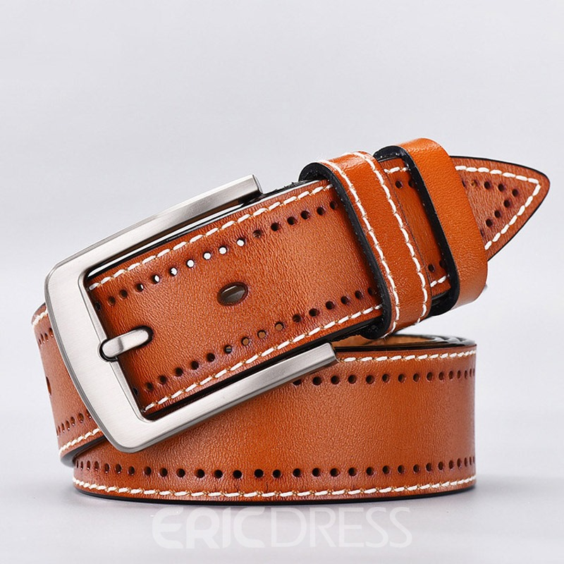 Ericdress Casual Thread Leather Belt
