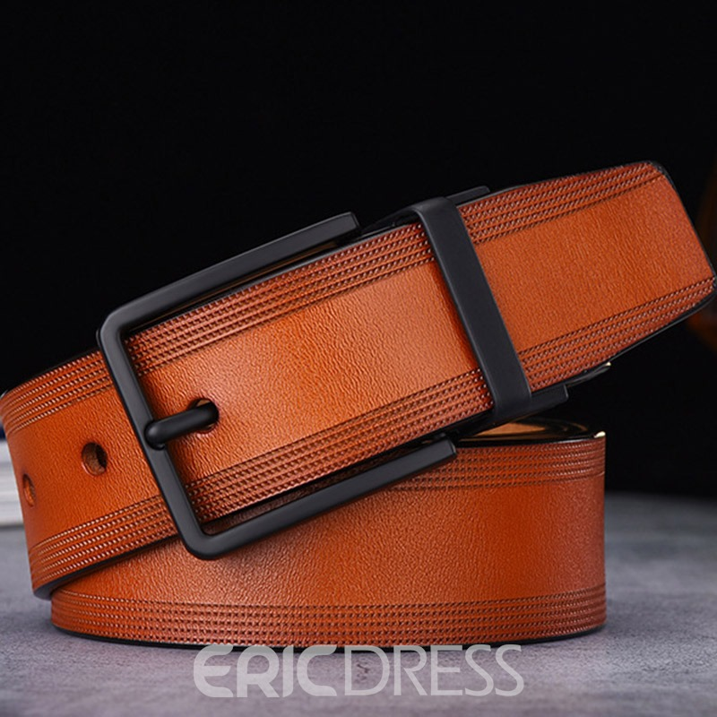 Ericdress Casual Pin Buckle Leather Belt