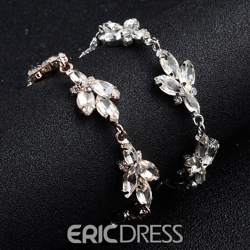 Ericdress Wedding Diamante Bracelet