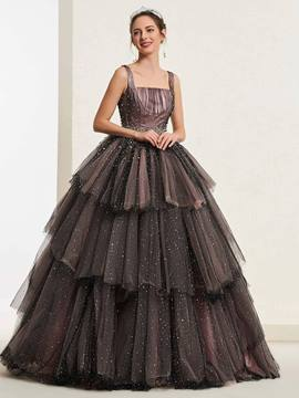 Ericdress Ball Gown Beading Quinceanera Dress 2019