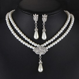 Ericdress Earrings Plain Prom Jewelry Sets