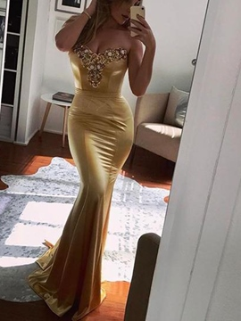 Ericdress Mermaid Sweetheart Evening Dress 2019