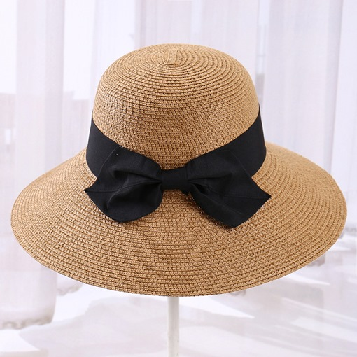 Ericdress Straw Korean Plain Summer Hat