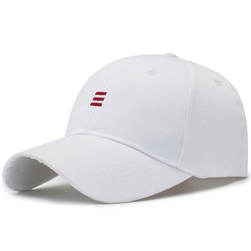 Ericdress Cotton Baseball Cap Stripe Hat