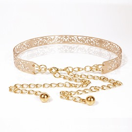 Ericdress Chain European Metal Belt For Women