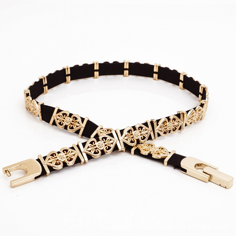 Ericdress Fashion Carving Alloy Belt
