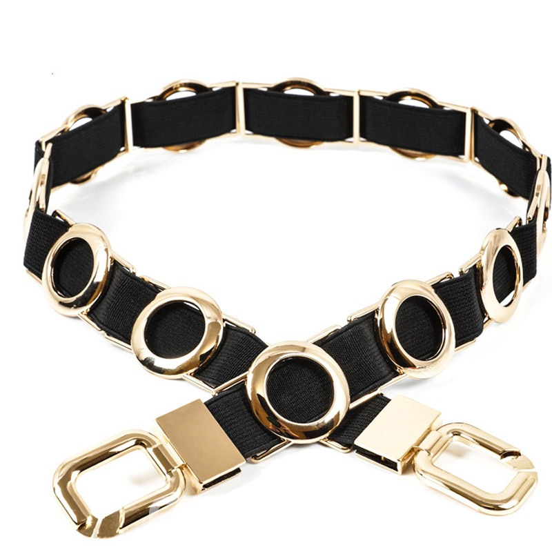 Ericdress Fashion Hoop Metal Belt