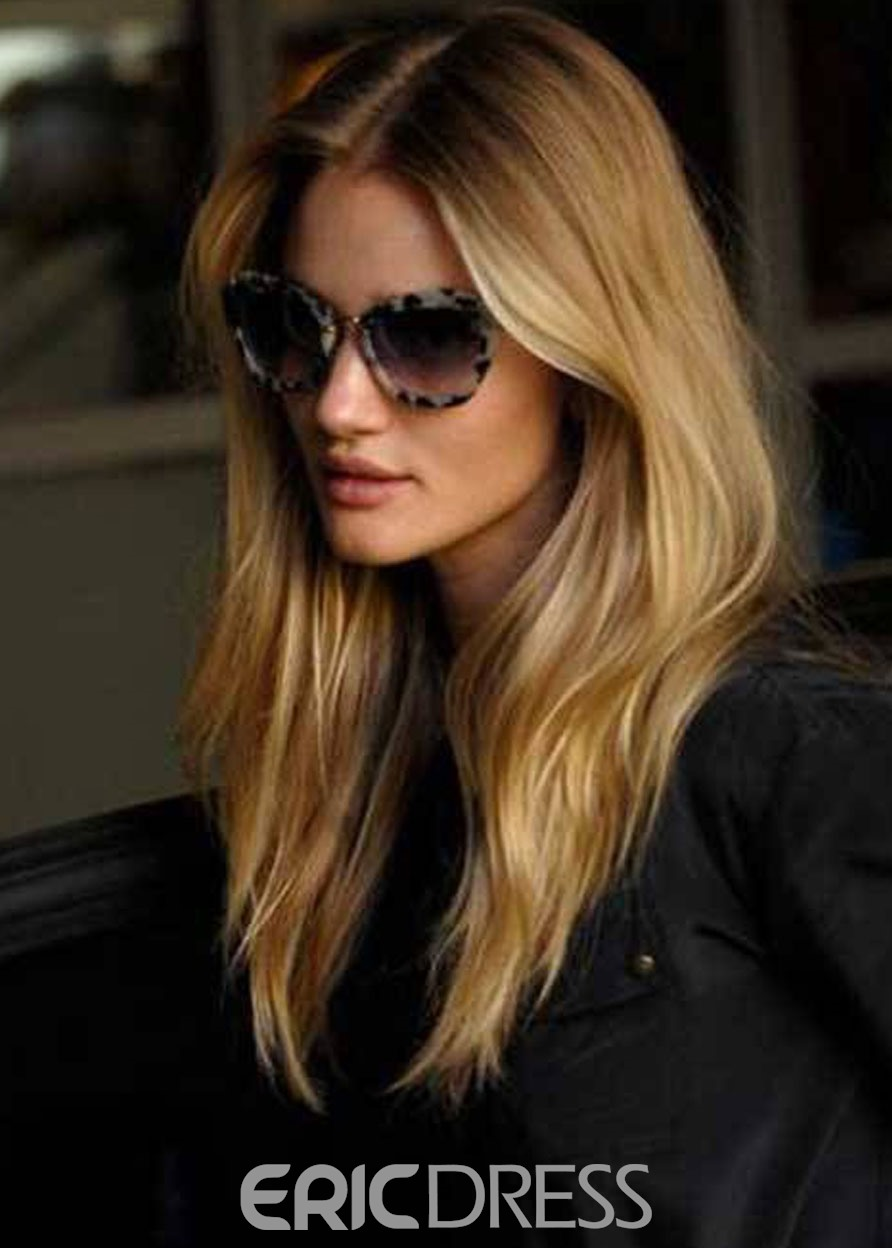 Ericdress Fashion Women Long Straight Synthetic Hair Capless Wigs 22 Inches