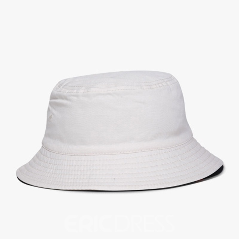 Ericdress Bucket Embroidery Letter Hat