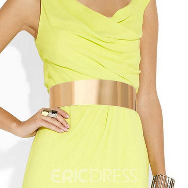 Ericdress Simple Fashion Alloy Belt