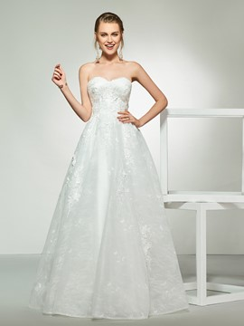 Ericdress A-Line Sweetheart Hall Wedding Dress 2019