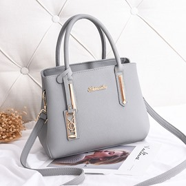 Ericdress Fashion Casual Plain PU Handbag