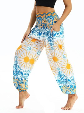Ericdress Print Loose Dance Yoga Pants