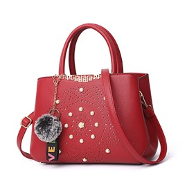Ericdress Spring PU Hollow Handbag
