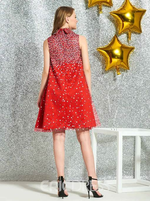 Ericdress A-Line Beading Cocktail Dress