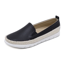 Ericdress Round Toe Slip-On Women's Flats