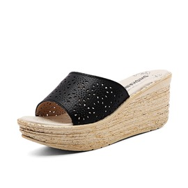 Ericdress Hollow Flip Flop Women's Mules Shoes