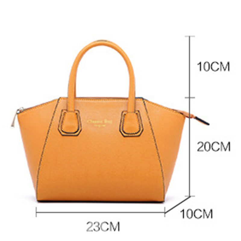 Ericdress PU Plain Thread Bag Set