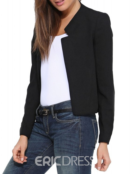 Ericdress Straight Office Lady Single Jacket