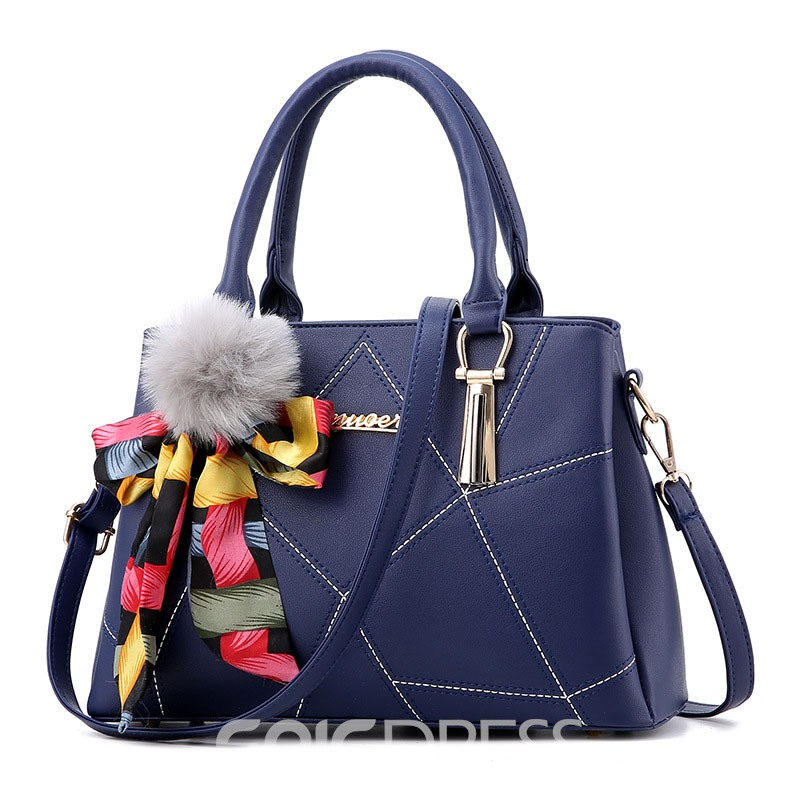 Ericdress Bowtie PU Handbags