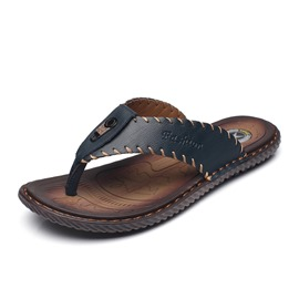 Ericdress Plain Thong Men's Slippers