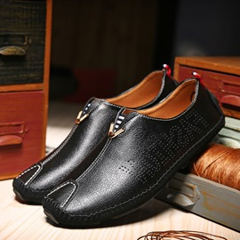 Ericdress Plain Round Toe Men's Slip-On Loafers