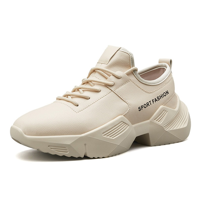 Ericdress PU Letter Lace-Up Men's Sneakers