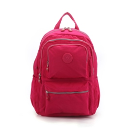 Ericdress Preppy Plain Canvas Backpacks