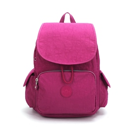 Ericdress Spring Preppy Canvas Plain Zipper Backpacks