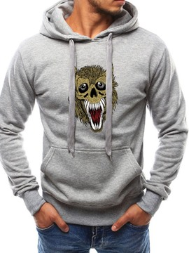 Ericdress Embroidery Pullover Men's Animal Hoodies