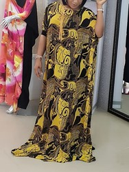Ericdress African Fashion Floor-Length Casual Maxi Dress