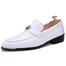 Ericdress Plain Slip-On Round Toe Loafers For Men