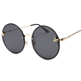 Ericdress New Fashion Poly Carbonate Round Sunglasses