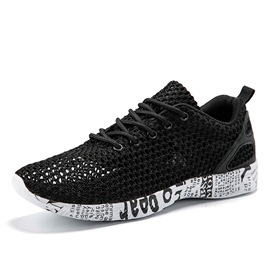 Ericdress Mesh Hollow Lace-Up Men's Casual Sneakers
