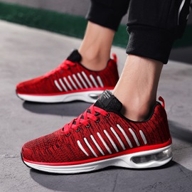 Ericdress Mesh Color Block Roud Toe Lace-Up Men's Athletic Shoes