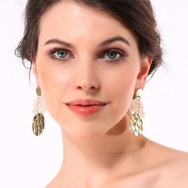 Ericdress Acrylic Alloy Gift Earrings