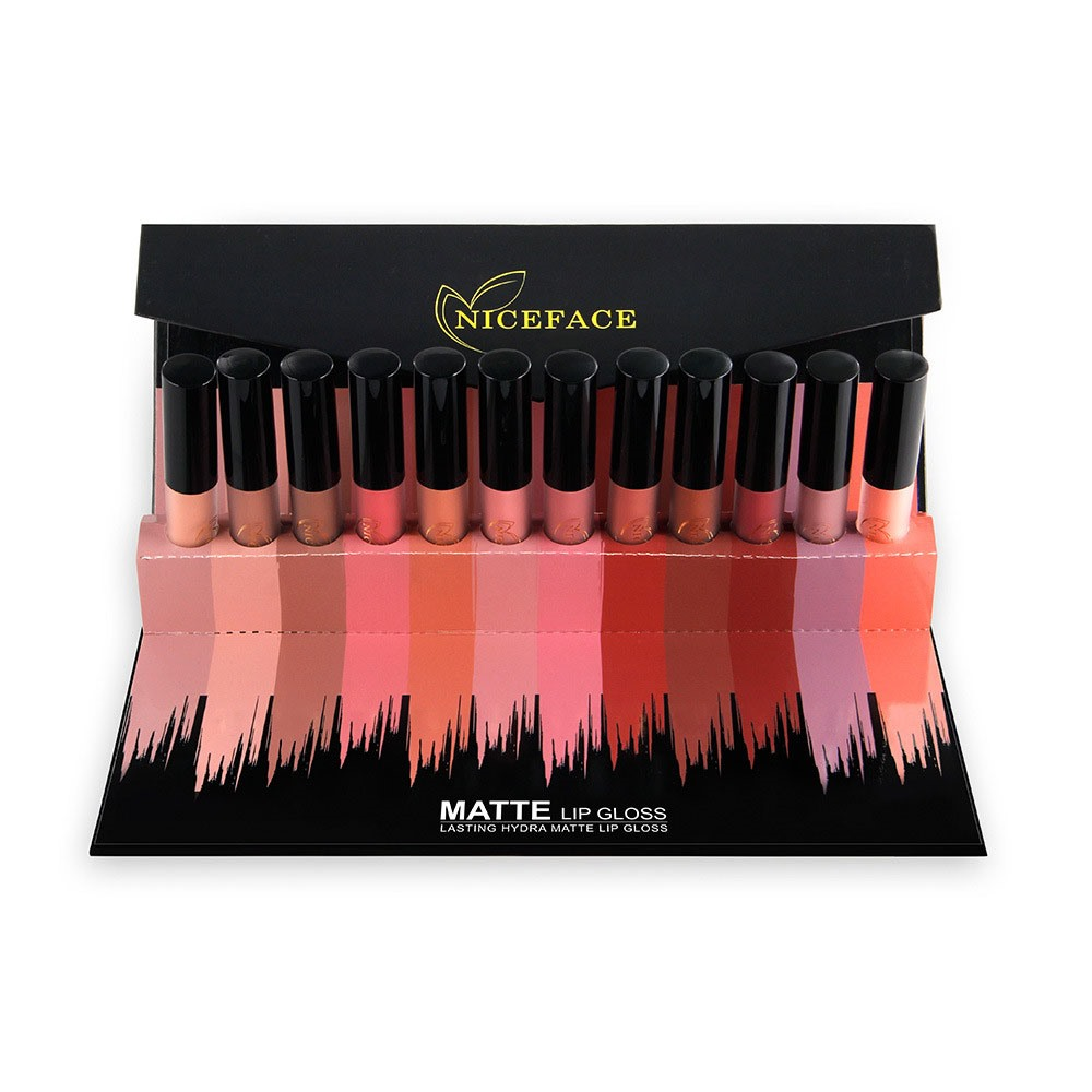 Ericdress Matte Lip Glosses 12 PCS