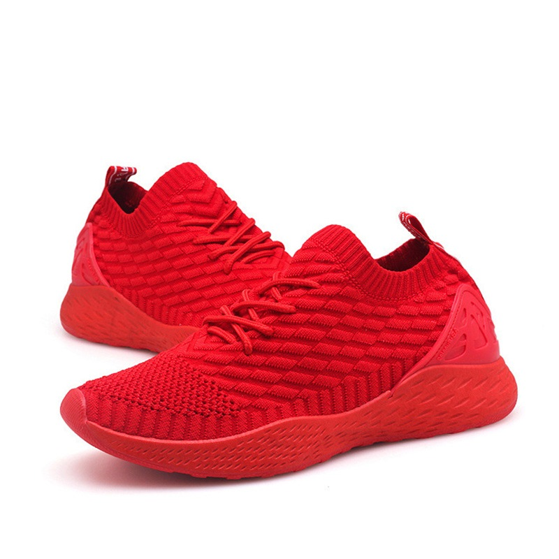 Ericdress Mesh Lace-Up Round Toe Sneakers For Men
