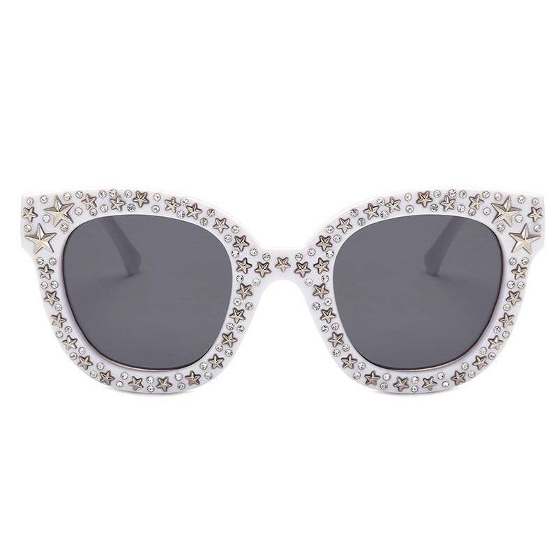 Ericdress Poly Carbonate Rhinestone Sunglasses