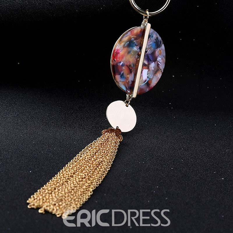 Ericdress Acrylic Pendant Necklace