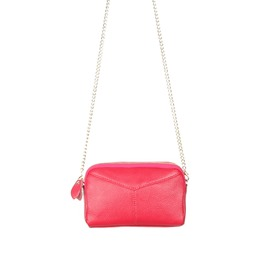 Ericdress Plain PU Rectangle Chain Shoulder Bags