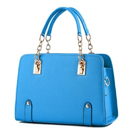Ericdress Plain Spring Colorful Neon PU Handbag