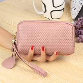 Ericdress Embossing Women PU Organizer Wallet