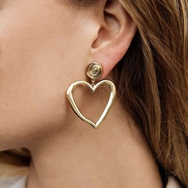 Ericdress Heart-Shaped Party Earrings