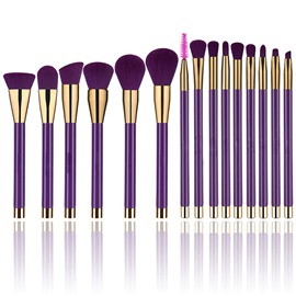 ericdress fashion brush set de maquillage violet