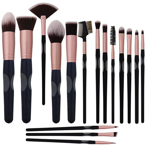 Ericdress Black Makeup Brush Sets