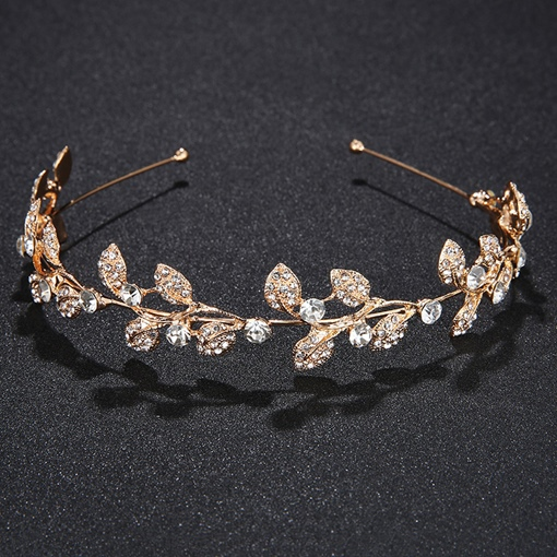 European Handmade Leaf Hair Accessories (Wedding)