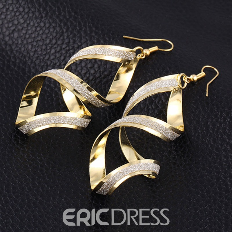 Ericdress Sexy Alloy Cross Earrings