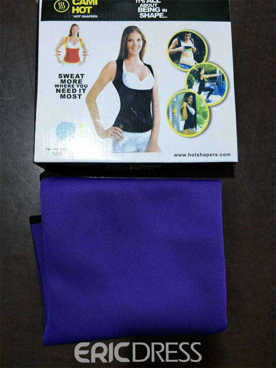 Ericdress Sauna Tank Top Gym Shapers Waist Trainer Sports Corsets
