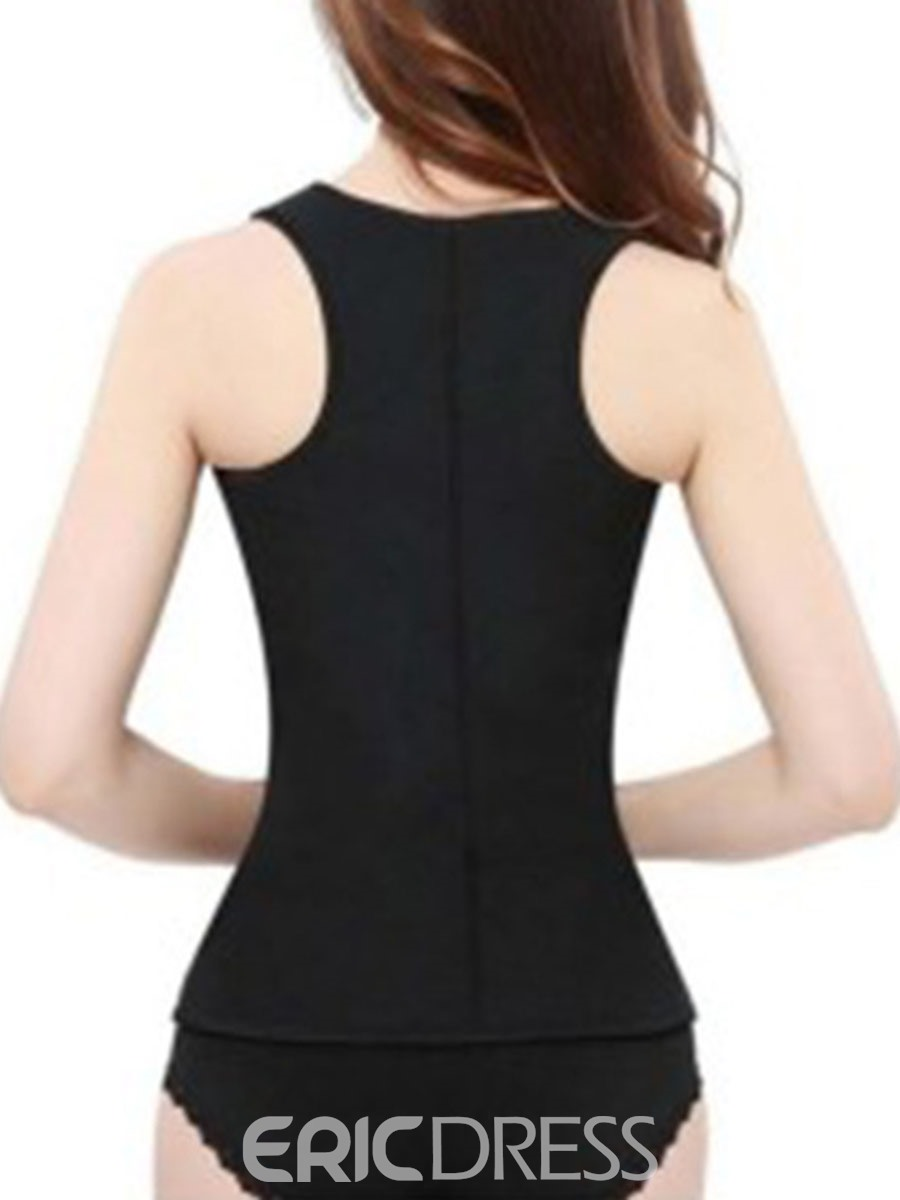 Ericdress Sauna Tank Top Gym Shapers Waist Trainer Cincher Corsets